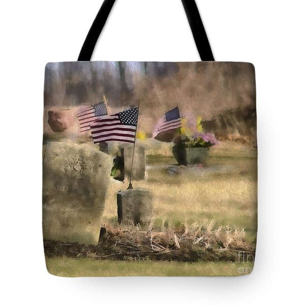 Tote Bag featuring the photograph Not Forgotten by JRP Photography