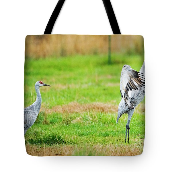 Not Impressed Tote Bag