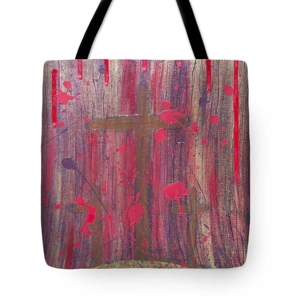 Not In Vain Tote Bag by Angelina Vick