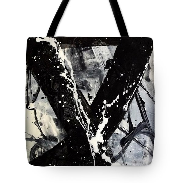 Not Just Black And White Tote Bag