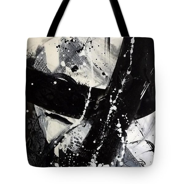 Not Just Black And White3 Tote Bag