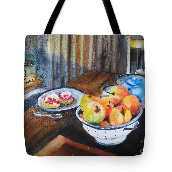 Not Just Tea And Scones - Qcwa Toowoomba 90 Years Tote Bag