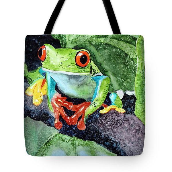Not Kermit Tote Bag by Tom Riggs