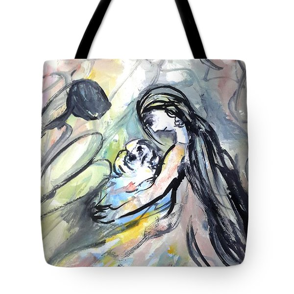 Not Leave Your Family  Tote Bag