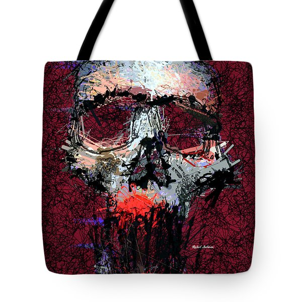 Tote Bag featuring the digital art Not Me by Rafael Salazar