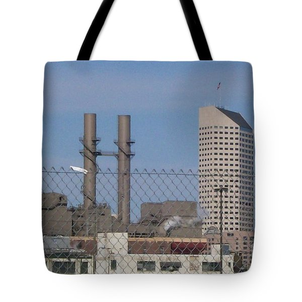 Not My White Flag Tote Bag