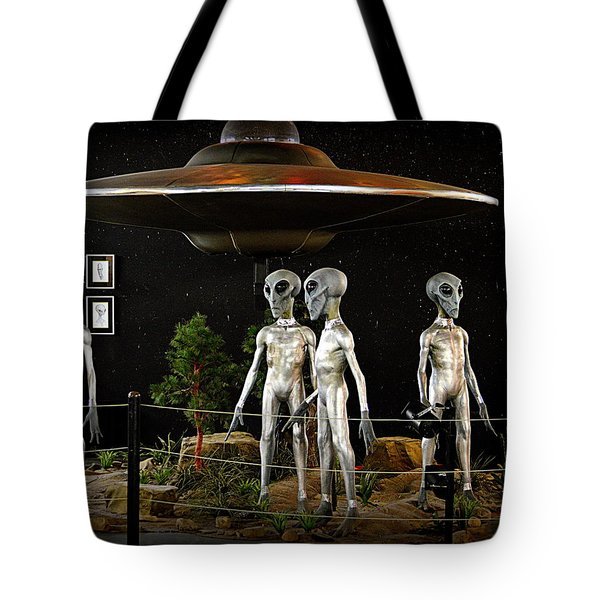 Not Of This Earth Tote Bag