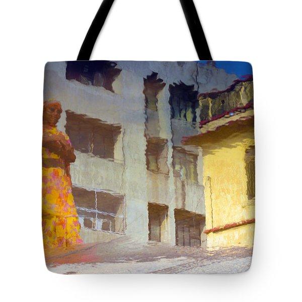 Not Sure Tote Bag by Prakash Ghai