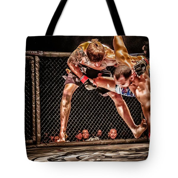Tote Bag featuring the photograph Not Today by Michael Rogers