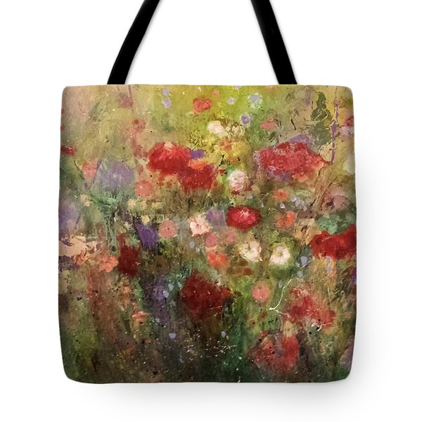 Nothing But Flowers Tote Bag by Frances Marino