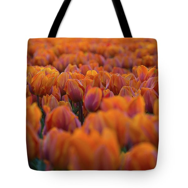 Nothing But Tulips Tote Bag