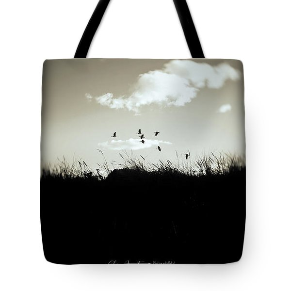 Tote Bag featuring the photograph Nothing Lasts by Chris Armytage
