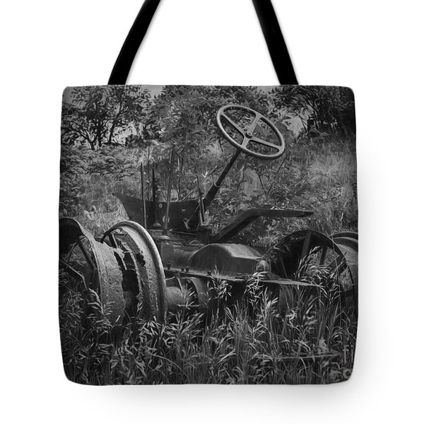 Tote Bag featuring the photograph Nothing Left by JRP Photography