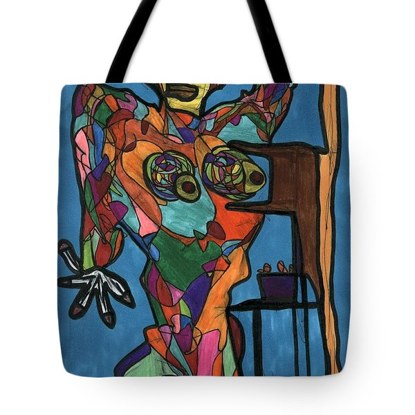Nothing To Fear Tote Bag by Darrell Black