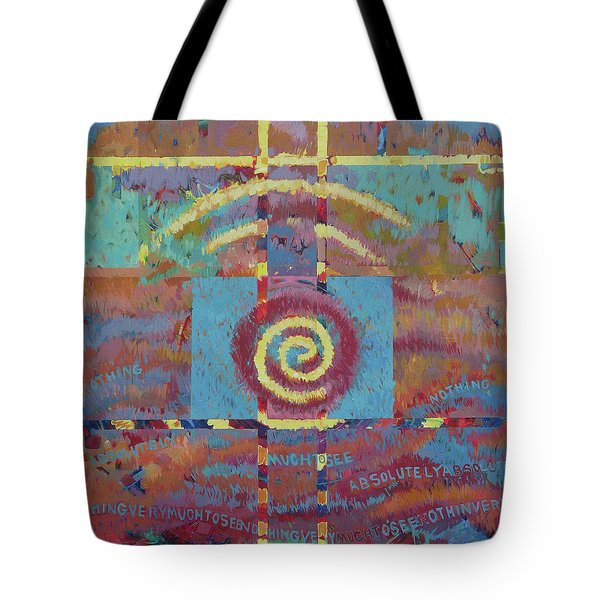 Nothing Very Much To See Tote Bag