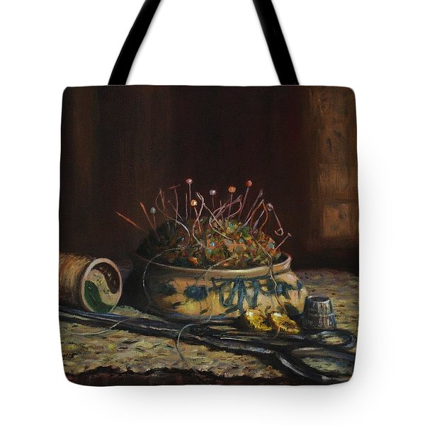 Tote Bag featuring the painting Notions by Dorothy Allston Rogers