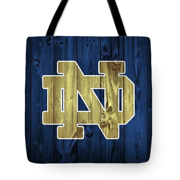 Notre Dame Barn Door Tote Bag by Dan Sproul