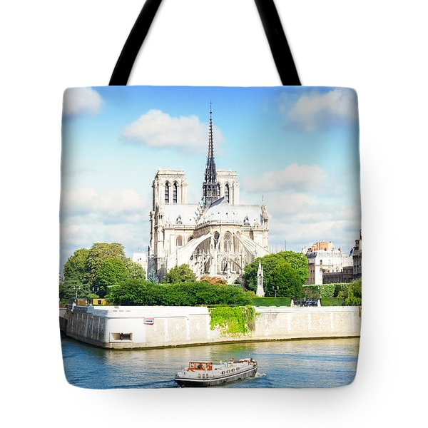 Notre Dame Cathedral, Paris France Tote Bag