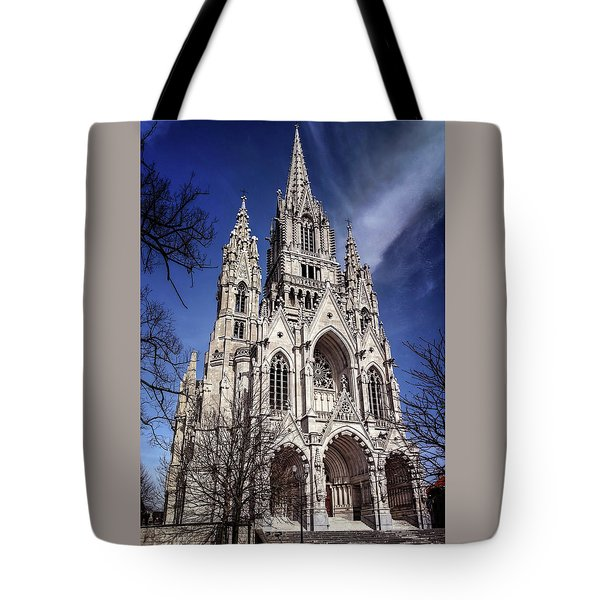 Notre Dame De Laeken In Brussels  Tote Bag