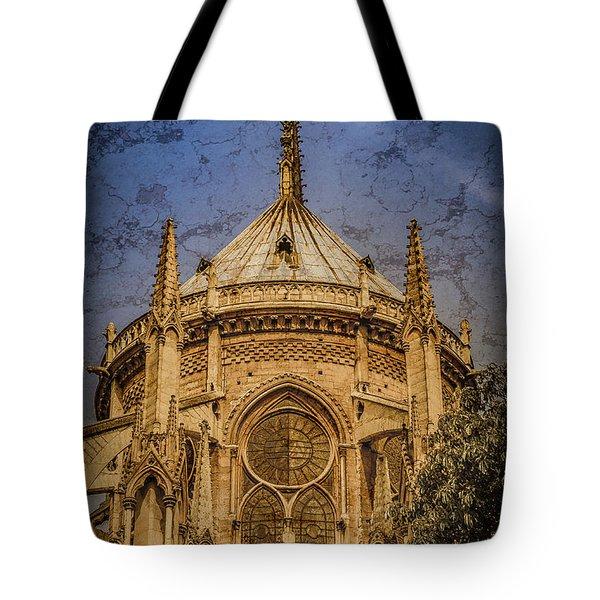 Paris, France - Notre-dame De Paris - Apse Tote Bag