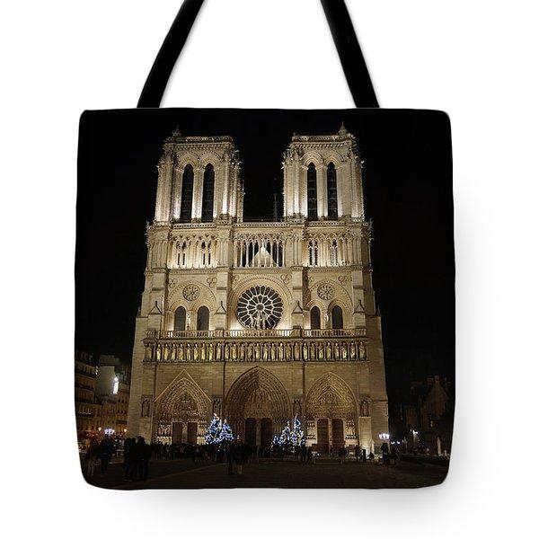Notre Dame De Paris Tote Bag by Erik Tanghe