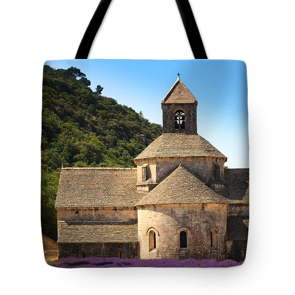 Notre-dame De Senanque  Abbey Provence France Tote Bag