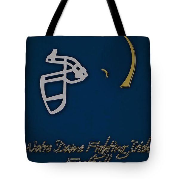 Notre Dame Fighting Irish Helmet Tote Bag