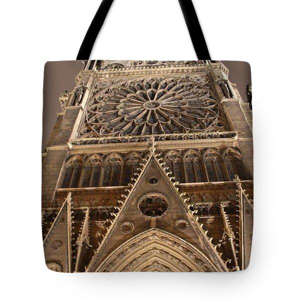 Notre Dame North Tote Bag