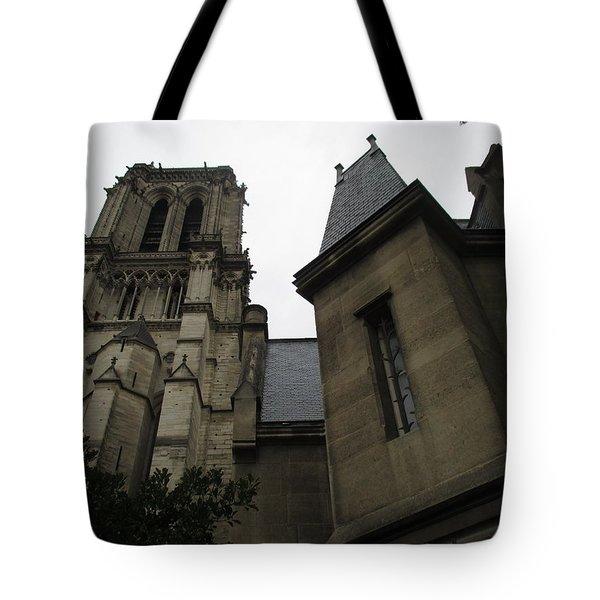 Notre Dame Paris Southwest Tote Bag