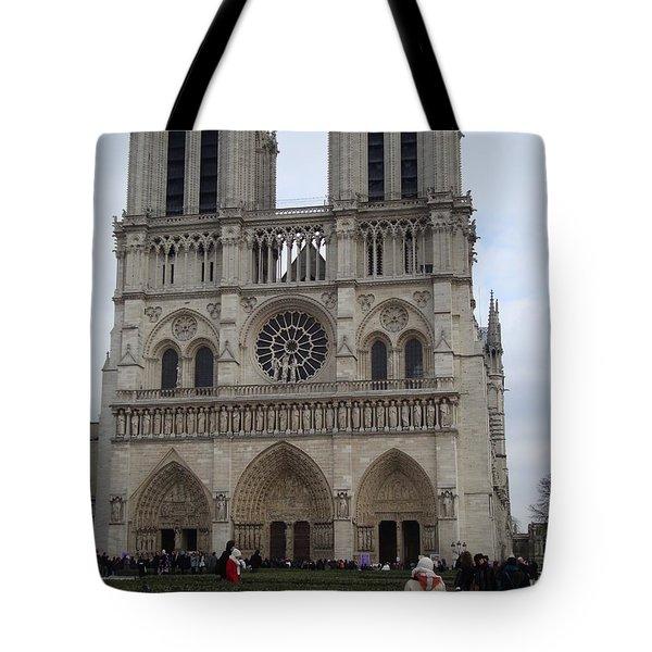 Notre Dame Tote Bag by Roxy Rich