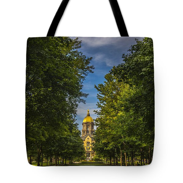 Notre Dame University 2 Tote Bag by David Haskett