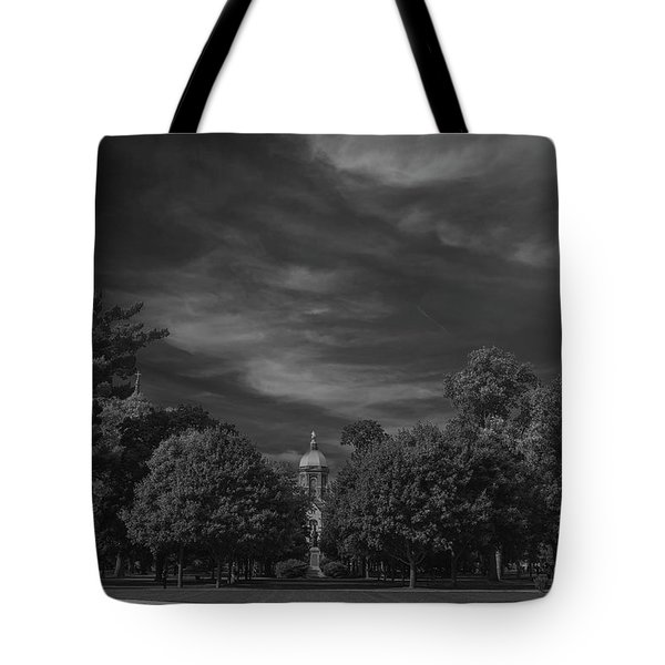 Tote Bag featuring the photograph Notre Dame University 6a by David Haskett