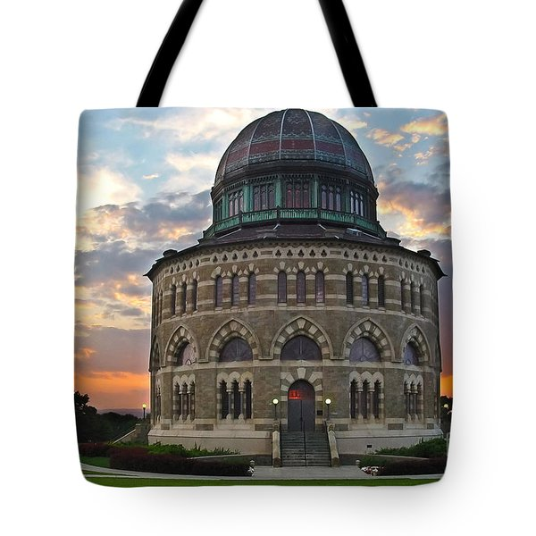 Nott Sunset Tote Bag