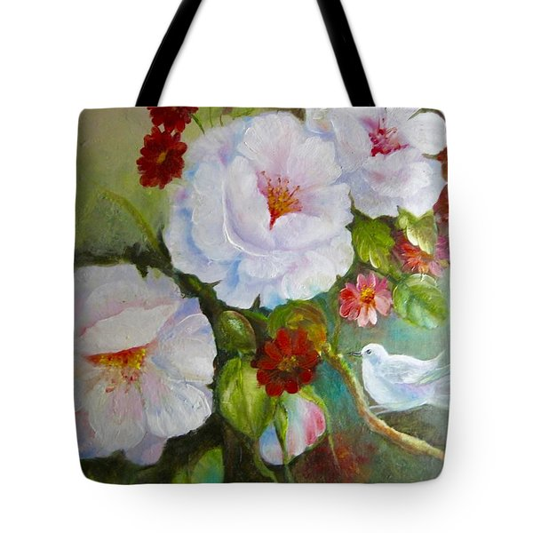 Noubliable  Tote Bag by Patricia Schneider Mitchell