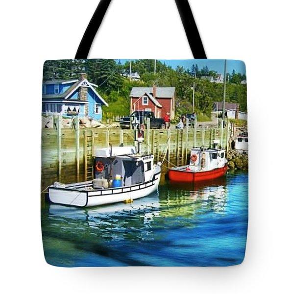 Tote Bag featuring the photograph Nova Scotia by Robin Regan