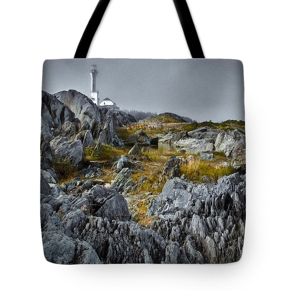 Nova Scotia's Rocky Shore Tote Bag