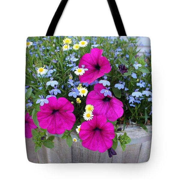 Nova Spring Blooms Tote Bag