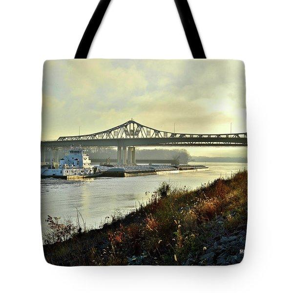 November Barge Tote Bag