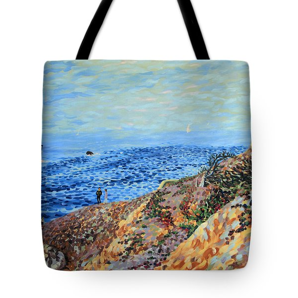 November Day At Point Lobos San Francisco Tote Bag