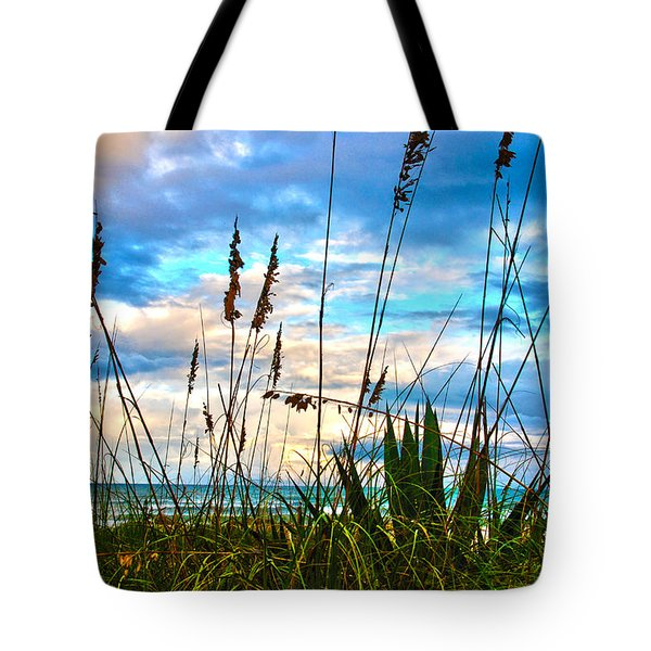 November Day At The Beach In Florida Tote Bag
