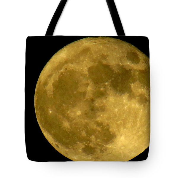 Tote Bag featuring the photograph November Full Moon by Eric Switzer