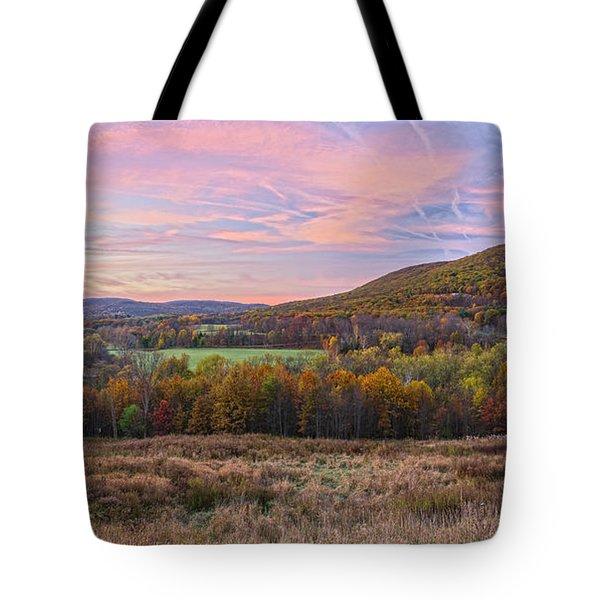 November Glowing Sky Tote Bag