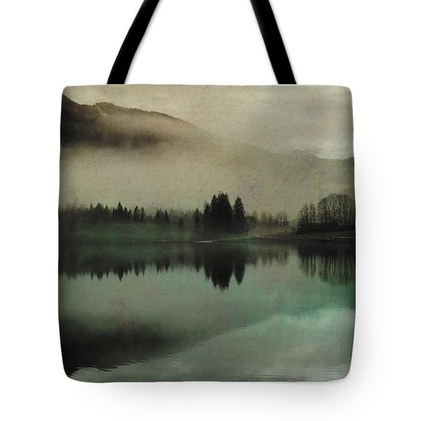 November Lake Tote Bag