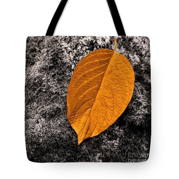 November Leaf Tote Bag