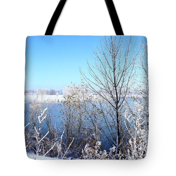 November Morning Surprise Tote Bag by Scott Kingery