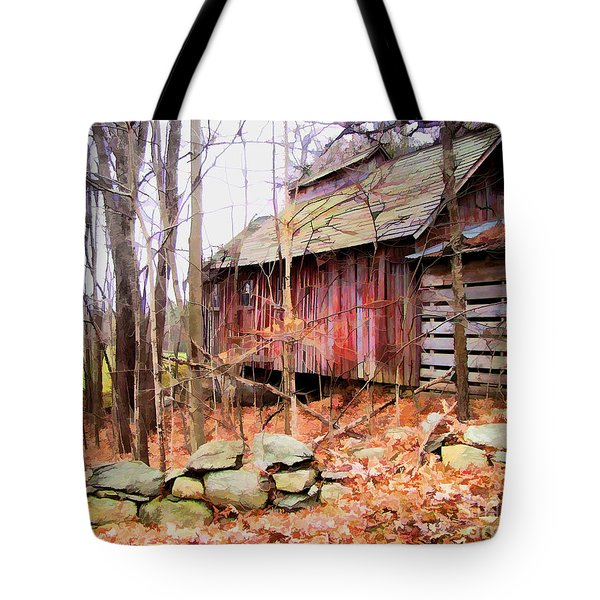 November Stark Tote Bag by Betsy Zimmerli