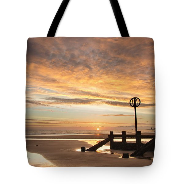 November Sunrise Tote Bag