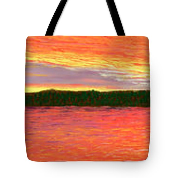 November Sunset Special Crop Tote Bag