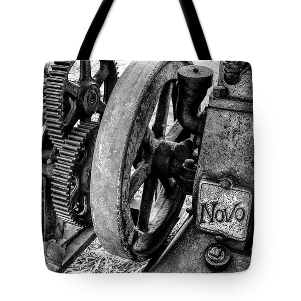Novo Antique Gas Engine Tote Bag