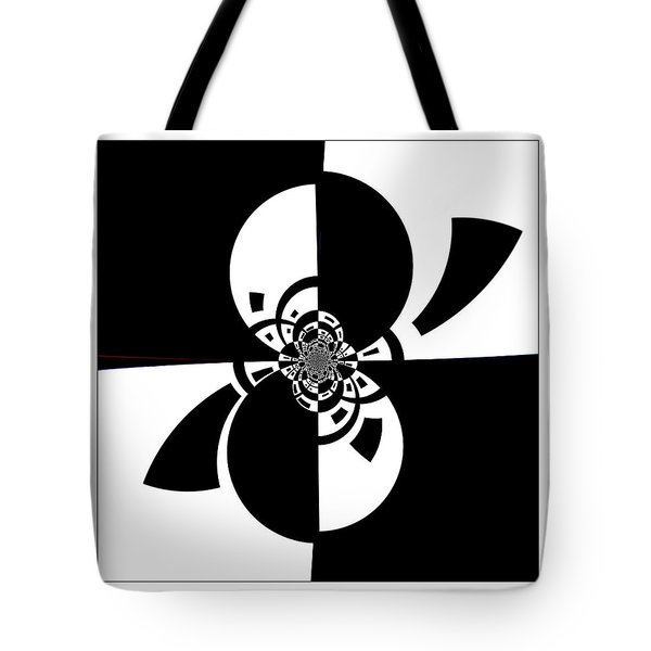 Tote Bag featuring the digital art Now And Forever by Wendy J St Christopher